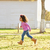 kid girl toddler playing running in park outdoor stock photo © lunamarina