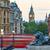 london trafalgar square lion and big ben stock photo © lunamarina