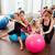 aérobic · pilates · femmes · Kid · filles - photo stock © lunamarina