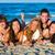 cinquième · filles · extérieur · plage · ciel · fille - photo stock © lunamarina