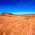 бесплодный · западной · пустыне · Египет · небе · солнце - Сток-фото © lunamarina