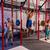 bilanciere · sollevamento · pesi · gruppo · palestra · allenamento - foto d'archivio © lunamarina