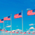 Washington · Anıtı · bayraklar · daire · ABD · Amerika · Birleşik · Devletleri · şehir - stok fotoğraf © lunamarina
