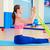 гребля · тренировки · спортзал · молодые · мышечный · Cute - Сток-фото © lunamarina