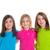 gelukkig · lachend · kinderen · student · meisjes · school - stockfoto © lunamarina