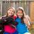 gêmeo · irmãs · cachorro · animal · de · estimação · cão - foto stock © lunamarina