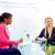 sollicitatiegesprek · jonge · vrouw · business · team · business · interview · professionele - stockfoto © lunamarina