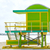 Miami · praia · torre · sul · Flórida · EUA - foto stock © lunamarina