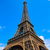 Eyfel · Kulesi · Paris · Fransa · gökyüzü · şehir · mavi - stok fotoğraf © lunamarina
