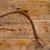 Antique sickle hand tool rusted on aged vintage wood stock photo © lunamarina