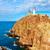 灯台 · スペイン · 地中海 · 海 · 水 · 建物 - ストックフォト © lunamarina
