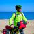 ciclismo · turista · ciclista · primavera · feliz · esportes - foto stock © lunamarina