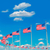 washington monument flags in dc usa stock photo © lunamarina