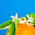 frutta · fiore · messa · a · fuoco · selettiva · arancione · verde - foto d'archivio © lunamarina