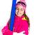 gyerek · lány · sí · hó · felszerlés · védőszemüveg - stock fotó © lunamarina