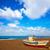 mooie · zeegezicht · vissen · boten · water · strand - stockfoto © lunamarina