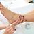 педикюр · мертвых · кожи · ног · ухода · женщину - Сток-фото © lunamarina