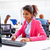 african young businesswoman working in office stock photo © lunamarina
