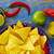 comida · mexicana · misto · nachos · pimenta · molho · queijo · cheddar - foto stock © lunamarina