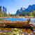 ヨセミテ · 川 · ドーム · カリフォルニア · 空 - ストックフォト © lunamarina