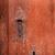 伝統的な · 鉄 · ドア · ハンドル · 風化した - ストックフォト © lunamarina
