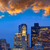 Бостон · Skyline · назад · парусного · лодка · городского - Сток-фото © lunamarina