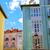 színes · épület · LA · környék · történelmi · központ - stock fotó © lunamarina