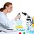 化学 · 室 · 科学 · 女性 · チャンネル · 作業 - ストックフォト © lunamarina