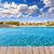 praia · mallorca · ilha · convés · foto · céu - foto stock © lunamarina