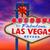 welkom · fabelachtig · Las · Vegas · teken · zonsondergang · Nevada - stockfoto © lunamarina