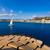 vitorlás · vitorlázik · mediterrán · Spanyolország · tengerpart · víz - stock fotó © lunamarina