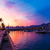porta · marina · nascer · do · sol · Espanha · mediterrânico · árvore - foto stock © lunamarina