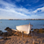 beyaz · tekne · plaj · şeffaf · akdeniz · deniz - stok fotoğraf © lunamarina