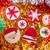 christmas · cookies · kerstmis · boom · sneeuwvlok - stockfoto © lunamarina