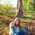 осень · Kid · девушки · ПЭТ · собака - Сток-фото © lunamarina