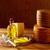 チーズ · スペイン · 木製のテーブル · オリーブオイル · 木材 · 背景 - ストックフォト © lunamarina