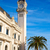 Valencia · liman · saat · kule · Bina · İspanya - stok fotoğraf © lunamarina