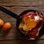 tapas · törött · tojások · sonka · étel · étterem - stock fotó © lunamarina