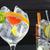 gin · cocktail · ijs · vanille · lima · citroen - stockfoto © lunamarina