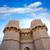 ajtó · Spanyolország · ősi · város · Valencia · épület - stock fotó © lunamarina
