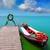 tó · Valencia · kék · ég · csónak · zöld · víz - stock fotó © lunamarina