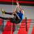 crossfit · halat · tırmanmak · egzersiz · uygunluk · spor · salonu - stok fotoğraf © lunamarina