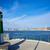 tengerpart · mediterrán · Spanyolország · égbolt · víz · város - stock fotó © lunamarina