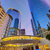 ヒューストン · タウン · 日没 · 高層ビル · テキサス州 · 現代 - ストックフォト © lunamarina