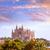 cathédrale · majorque · la · réflexion · lac - photo stock © lunamarina