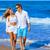 ロマンチックな · 愛 · 青 · 海 · 海岸 - ストックフォト © lunamarina