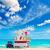cabine · praia · Miami · Flórida · EUA · mar - foto stock © lunamarina