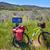 yol · Santiago · bisiklet · İspanya · doğa - stok fotoğraf © lunamarina