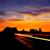 sunrise on us 163 scenic road to monument valley park stock photo © lunamarina