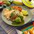 tortilla · cips · malzemeler · atış · ahşap · çanak - stok fotoğraf © lunamarina